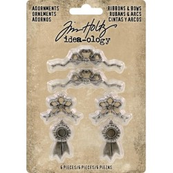 Ribbons & Bows Adornaments Idea-ology by Tim Holtz
