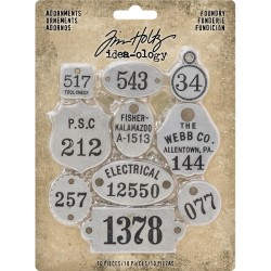 Foundry Adornaments Idea-ology by Tim Holtz