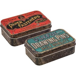 Metal Trinket Tins Idea-ology by Tim Holtz
