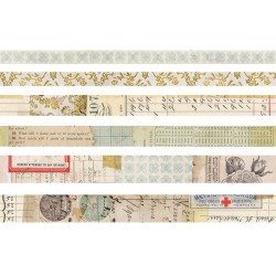 Salvaged Design Tape Idea-ology by Tim Holtz