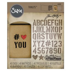 Gift Card Bag Thinlits Dies by Tim Holtz Sizzix