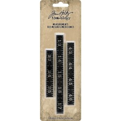 Metal Ruler Measurements Idea-ology by Tim Holtz