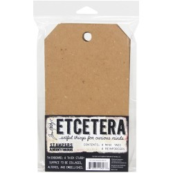 Etcetera Mini Tag by Tim Holtz Stampers Anonymous