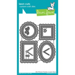 Mini Picture Frame Cuts Custom Craft Die Lawn Fawn