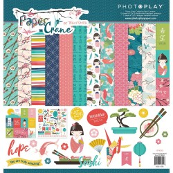 "Paper Crane 12""x12"" Collection Pack PhotoPlay"