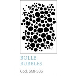 Bolle Bubbles A5 Mixed Media Stencil Tommy Art