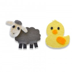 Sweet Spring Animals Bigz Die Sizzix