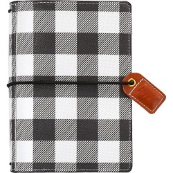 "Buffalo Plaid Color Crush Pocket Traveler's Planner 4,25""x6"" Webster's Pages"