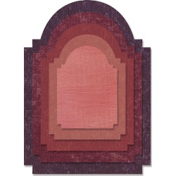 Stacked Archway Thinlits Dies by Tim Holtz Sizzix
