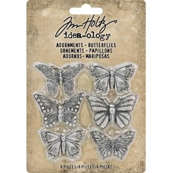 Butterflies Adornaments Idea-ology by Tim Holtz