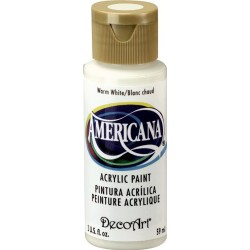 Warm White Acrylic Paint 2oz Americana