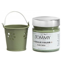 Colore Verde Pino 80 ml Chalk Color di Tommy Art