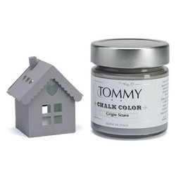 Colore Grigio Scuro 80 ml Chalk Color di Tommy Art