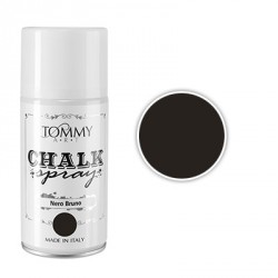 Nero Bruno Chalk Spray di Tommy Art
