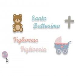 Battesimo Thinlits Dies Sizzix