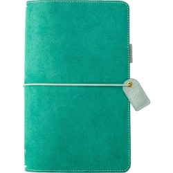 "Aspen Green Suede Color Crush Traveler's Notebook Planner 5,75""x8,75"" Webster's Pages"