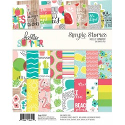 """Hello Summer Paper Pad 6""""x8"""" Simple Stories"""