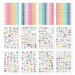 Calendar Planners Stickers Tablet A5 Carpe Diem