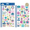 Hello Icons Mini Cardstock Stickers Doodlebug