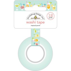 Tropical Punch Washi Tape 15 mm Doodlebug