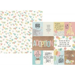 """3""""x4"""" & 4""""x6"""" Elements Oh Baby! Double-Sided Cardstock 12""""x12"""" Simple Stories"""