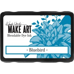Bluebird Blendable Dye Ink Pad Make Art Wendy Vecchi