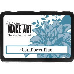 Cornflower Blue Blendable Dye Ink Pad Make Art Wendy Vecchi