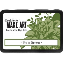 Fern Green Blendable Dye Ink Pad Make Art Wendy Vecchi