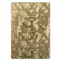 Botanical 3-D Texture Fades A6 Embossing Folder by Tim Holtz