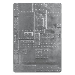 Foundry 3-D Texture Fades A6 Embossing Folder by Tim Holtz