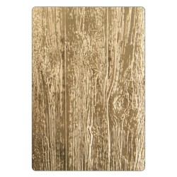 Lumber 3-D Texture Fades A6 Embossing Folder by Tim Holtz