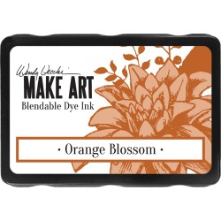 Orange Blossom Blendable Dye Ink Pad Make Art Wendy Vecchi