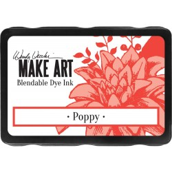 Poppy Blendable Dye Ink Pad Make Art Wendy Vecchi
