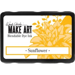 Sunflower Blendable Dye Ink Pad Make Art Wendy Vecchi