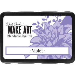 Violet Blendable Dye Ink Pad Make Art Wendy Vecchi