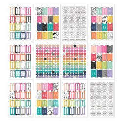 Tabs Planners Stickers Tablet A5 Carpe Diem