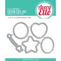 Floating Wishes Die Elle-ments Custom Steel Dies Avery Elle