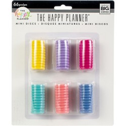 Multi Color Happy Planner Mini Discs Value Pack 66 Pkg Me&My Big Ideas