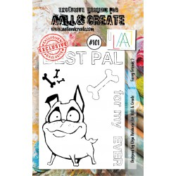 Furry Friends 2 Stamp Set 101 Timbri AALL & CREATE