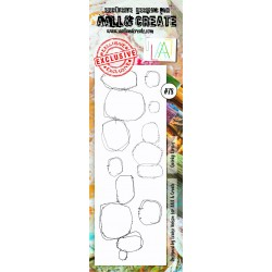 Quirky Circles Stamp Set 78 Timbri AALL & CREATE