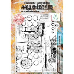 Vintage Graffiti Stamp Set 56 Timbri AALL & CREATE