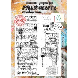 Strings n' Scripts Stamp Set 54 Timbri AALL & CREATE