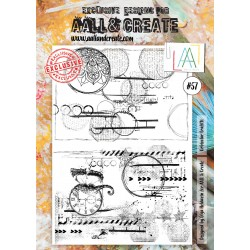 Orbicular Graffiti Stamp Set 57 Timbri AALL & CREATE