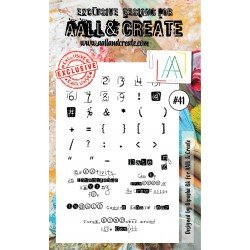 Stamp Set 41 Timbri AALL & CREATE