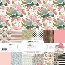 "Full Bloom Paper Pack 12""x12"" Kaisercraft"