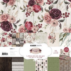 "Gypsy Rose Paper Pack 12""x12"" Kaisercraft"