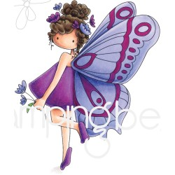 Tiny Townie Brianna The Butterfly Rubber Stamps Stamping Bella