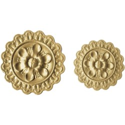 Medallion 3-D Impressilits Embossing Folder by Tim Holtz