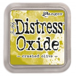 Crushed Olive Distress Oxide Ink Pad Tim Holtz