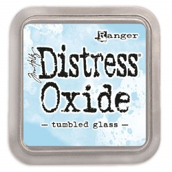 Tumbled Galss Distress Oxide Ink Pad Tim Holtz